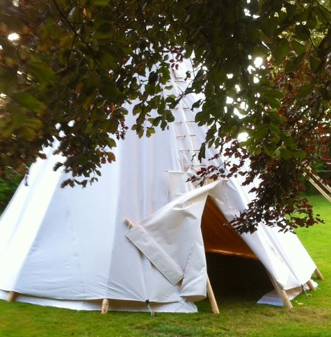 Picture of a tent: Reiki Norwich & Norfolk